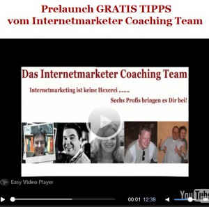 Das Internetmarketer Coaching Team